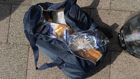 こんなにやさぐれた食パンはじめて見た