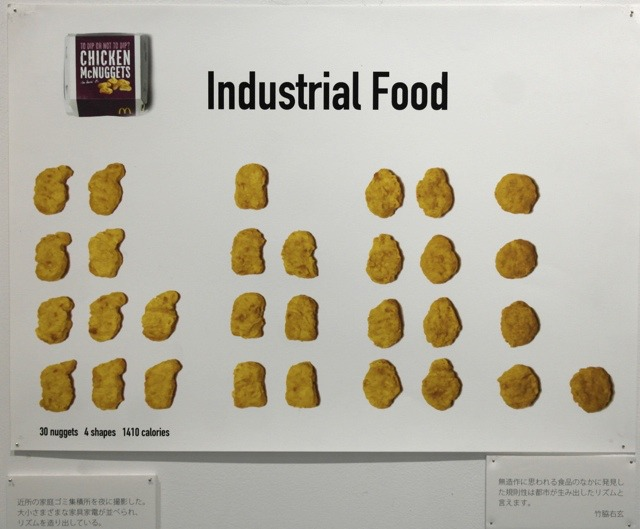 「Industrial Food」竹脇右玄