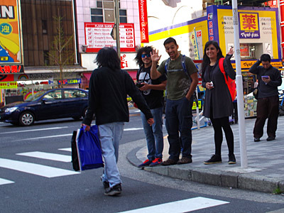特に外国人観光客には大人気。ウェルカム、トウキョー。