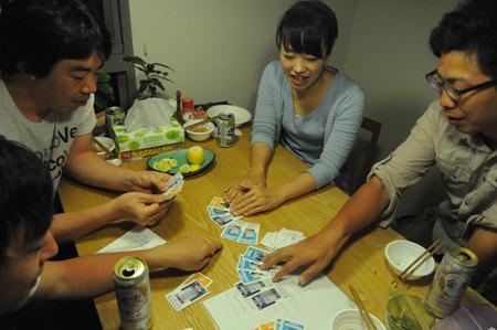 ツーペアだけど、全く同じカードのツーペアだから強い!っていう人。ただ混ざってなかっただけじゃん。
