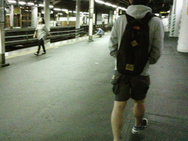 クライマックス 0:34 新橋駅 心拍数150