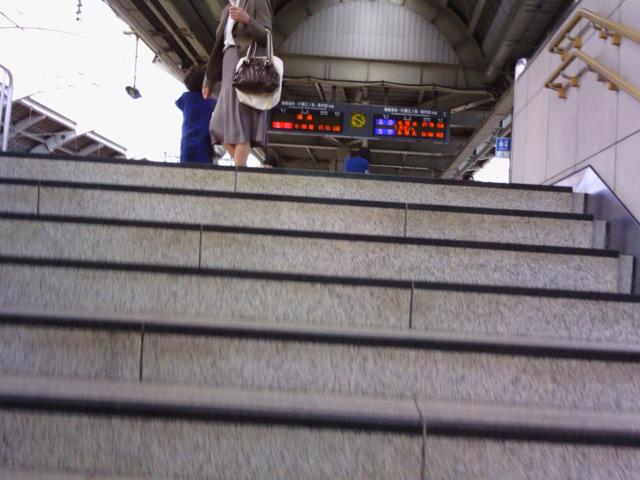 準クライマックス 15:49 心拍数125 駅の階段を上がってるところ
