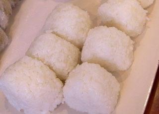 4位は西川千栄さん。富山コシヒカリ、鍋炊き。固めのお米もおいしかったが、塩もしっかり効いていてうまい。
