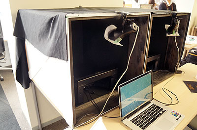 使用するのはこの3Dスキャナ