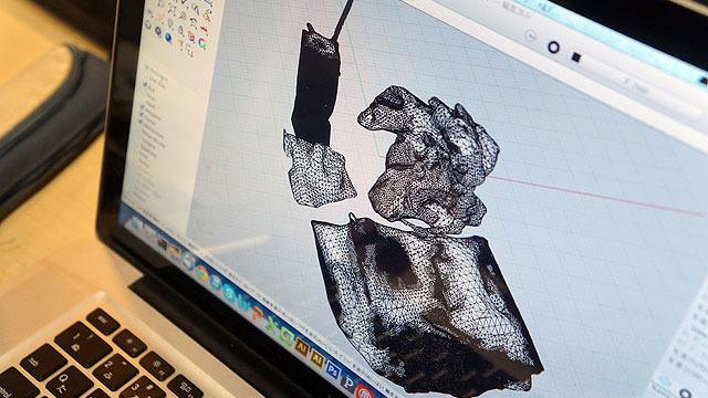 3Dモデル化されたゴミたち