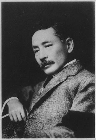 物憂げな夏目漱石先生
