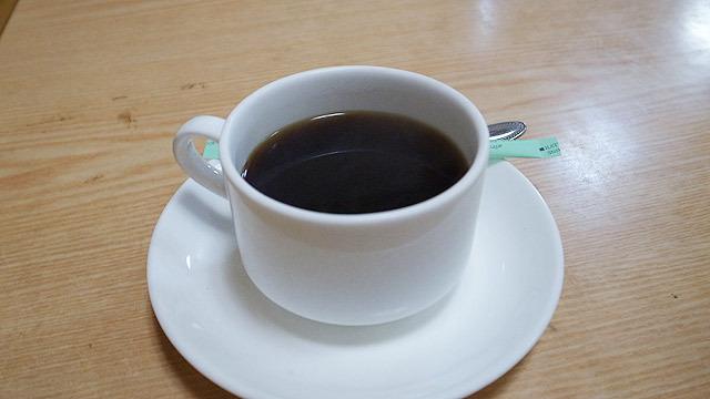 食後にはコーヒーが出ます!