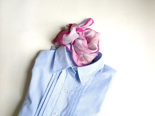 そしてさきほどのシャツとあわせたところ、全日空っぽくなった