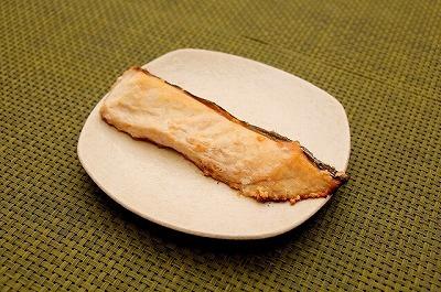 アカマンボウの塩焼き。