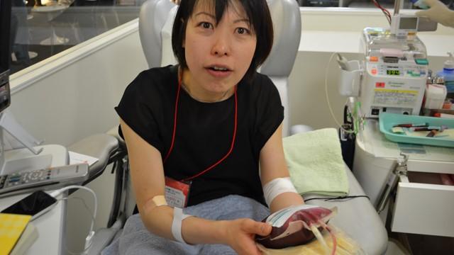 献血、怖くない!