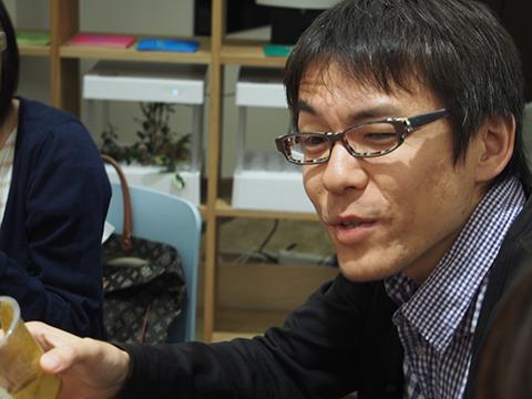編集部石川さんもこの顔。