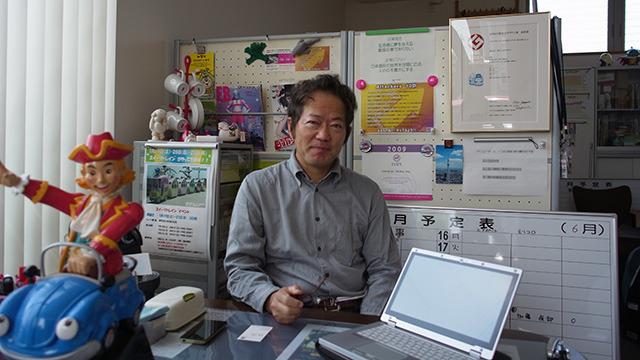 キャラクター工房、加藤さん。