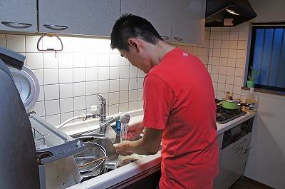 (再現)「よし、今日は僕が洗おう!」