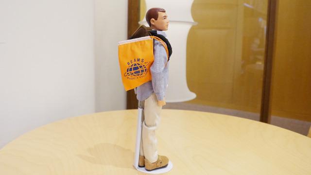 ビームスオリジナルG.I.ジョーにオレンジの袋がついたらしい。 (※ 1998年 BEAMS JAPANオープン記念で50体のみ販売した限定品)