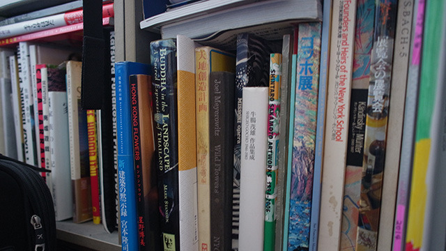 写真集、建築、絵画。タイトルだけでは何を言っているのかわからない本ばかりである。