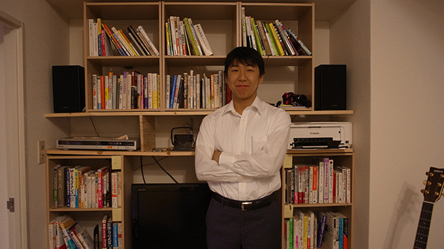 ザ・ビジネスマン。中村さん。