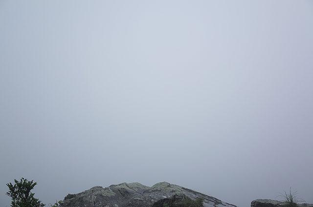 霧で真っ白!