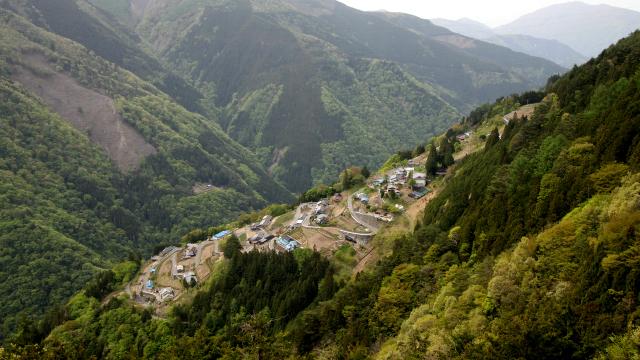 こういう景色を見に、遠山郷に行ってきました