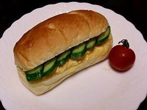 シンプルなパンなので、サンドイッチにしても美味しいです。