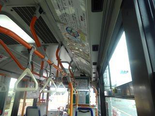 今回はオール、バス移動。