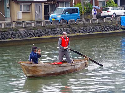 そして和船も作れる船大工のダグラスさん。