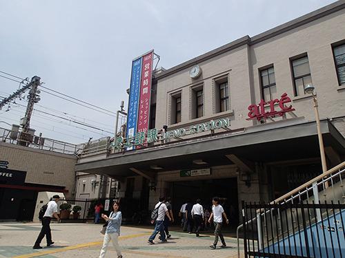 東京駅以降の不作地帯を挽回できるのか、上野。