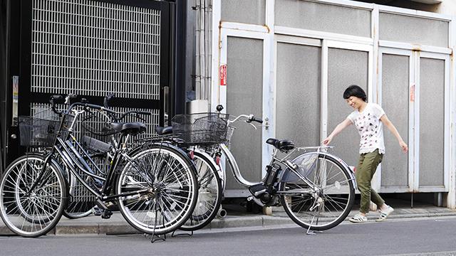 くぐれそうな自転車が見つかると嬉しい