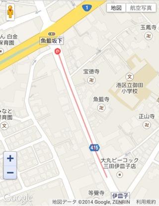 その頃の西村さんの軌跡。これはバスだ。