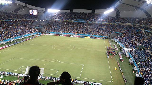 友人が女性二人だけで行ってきた、ワールドカップブラジル大会の観戦レポートです。