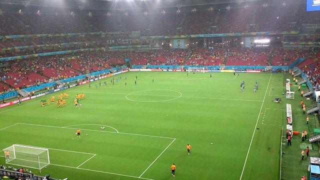 さすがに日本からブラジルまで応援にいく人は少なかったようで、空席がたくさんあったそうです。
