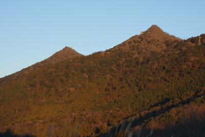 こちら、真冬の筑波山</a>。なお筑波山で採れるみかんの旬は10月下旬から12月までだそうですよ