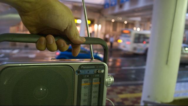 ラジオを持って旅に出ます
