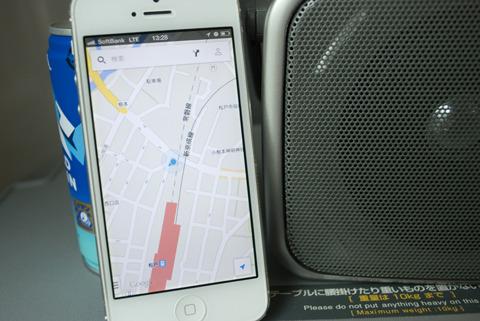 電波の受信地点はgoogleマップでチェック