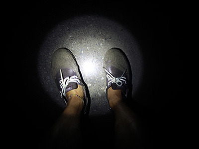 帰りはやっぱり暗くて怖かったけど。