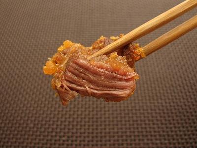 肉はホロホロ崩れる。やはり揚げる前に水気は良く切った方がおいしく仕上がる。