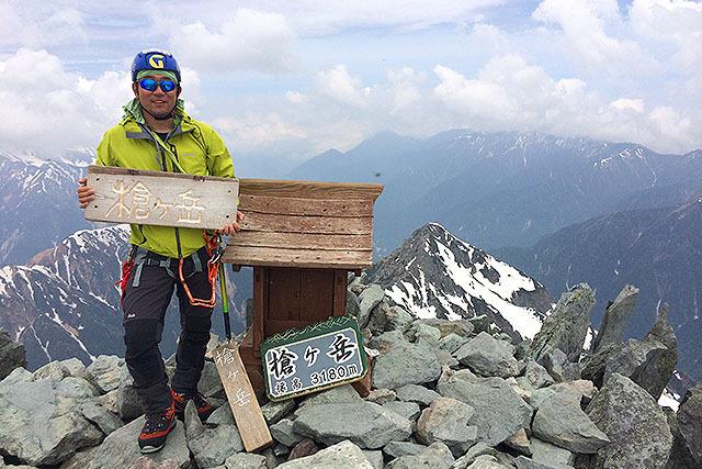 実は槍ヶ岳に登ったのはこれが初めてである。