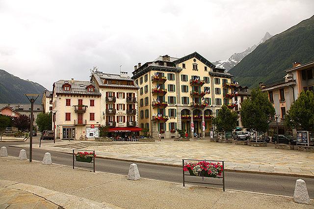 ステレオタイプなヨーロッパ風建築。