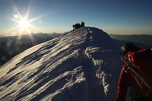 ついに登頂率20%を乗り越えて、山頂に着く。