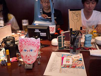 技術力のない人が作ったロボットの一例