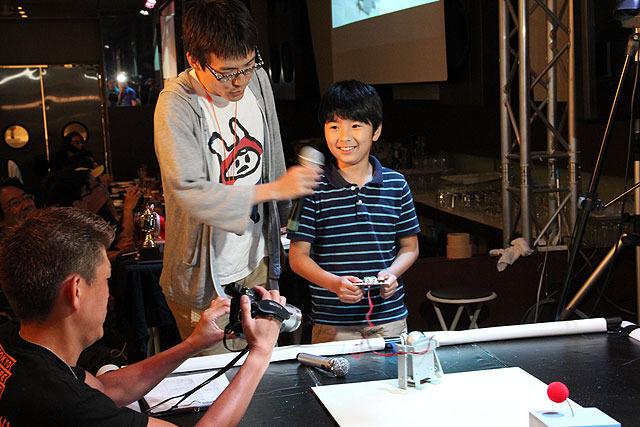 前田君と、そのロボット「Tsukubot3号」