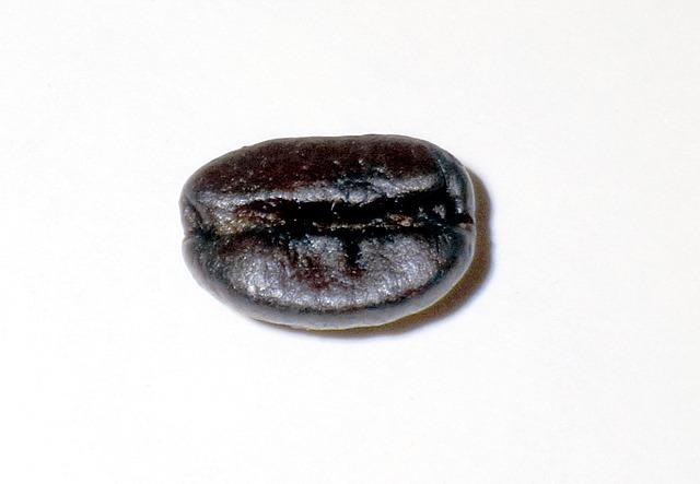 例えばこのコーヒー豆を撮ってみよう。