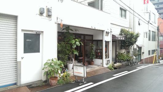 シンプルでかわいいお店