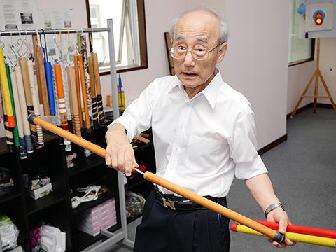 ヌンチャク健康法を考案した樋口裕乗先生