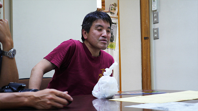津和野町商工観光課の藤山さん「こなれたやつ持ってきました」