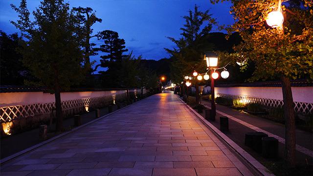 津和野は夜も綺麗です