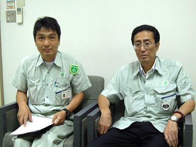 宮坂さん(左)と村川さん