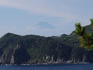 富士山も見えた!