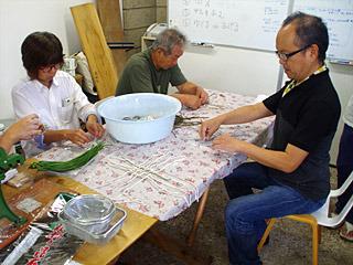 右がヒミング代表の平田さん。こんな企画につきあっていただきありがとうございます。