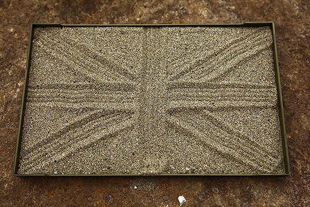 イギリスの国旗とかも。別にイギリスファンってわけでもないけど。