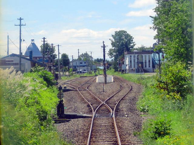 もう典型的なローカル線の駅である
